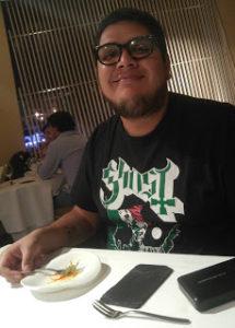 Gil Camago smiling